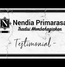 Testimoni Wedding Nendia Primarasa by Nendia Primarasa Catering
