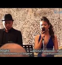 Hotel Kempinski Indonesia Wedding by Blue Ice Music