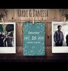 Undangan Video Hardi & Danissa by Sanone Project Digital / Electronic Invitation