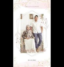 Undangan Video Faisal & Naura by Sanone Project Digital / Electronic Invitation