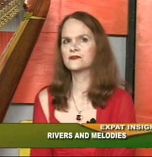 Melodies on Expat Insights with Raju Mandhyan ExIn070311-Ms Holly Angel Paraiso by Holly Paraiso - Harpist