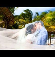 Vintage Wedding On The Beach by Beach Caribbean Weddings By Coucou Mexikoo