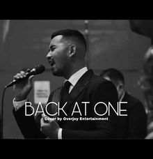 Back At One - Brian Mcknight Cover by Overjoy by OVERJOY ENTERTAINMENT