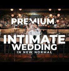 Premium Intimate Wedding In New Normal by Ventlee Groom Centre