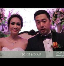 Video Testimony - January 2016 by PRIVATE WEDDING ORGANIZER