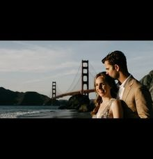 San Francisco Couple Session - Emily & Justin by Leura Film