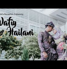 The Groom Reception Ceremony of Wafiy & Hailani by The PV Studios