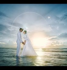 Tanjung Lesung Prewedding of Navy & Nena by GoFotoVideo