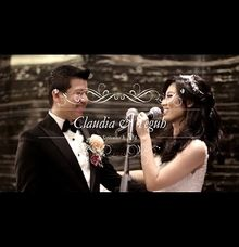 Claudia and Teguh Wedding Reception by LinkArt Entertainment