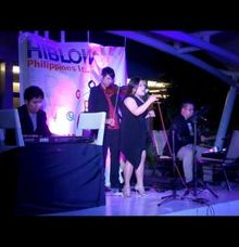 Lush Manila performing for Hiblow by Lush Arts Entertainment and Events Co.