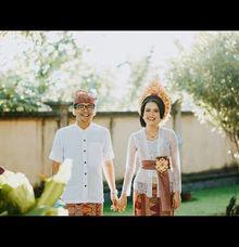 Balinese Traditional Wedding of Ayu & Igap by Lentera Wedding