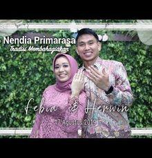Lamaran Febia & Herwin Di Kediaman Calon Pengantin Wanita Oleh Nendia Primarasa by Nendia Primarasa Catering