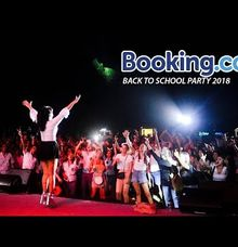 Booking.com Gathering Night by DJ Berlin Bintang