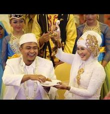 The Happiest Moments from our Bride & Groomed by SAVERO WEDDING BOGOR