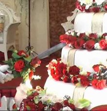Wedding Cake Arif Diana by RAY PRODUCTION INDONESIA