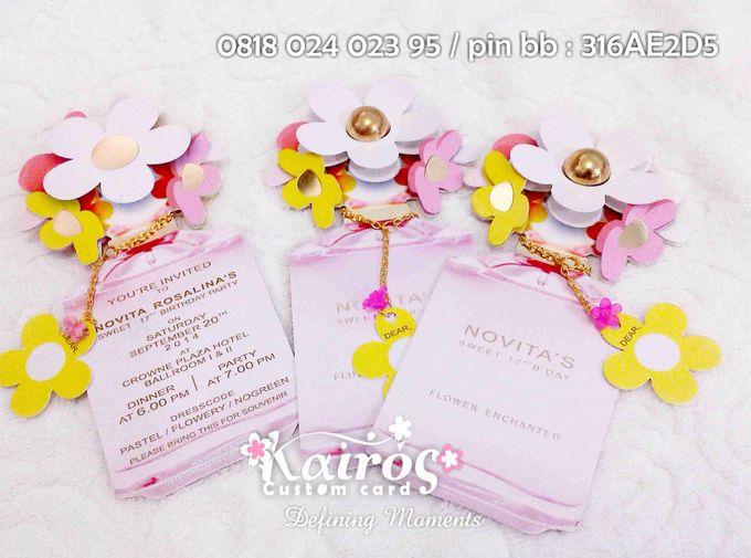 Novita Sweet 17th Birthday Invitation by Kairos Wedding Invitation