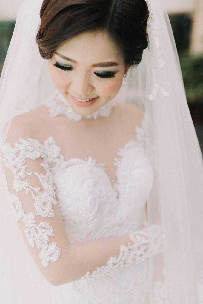 Yusi wedding hairstyles