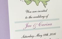 long distance wedding invitations
