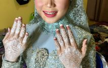 Henna Wedding For Hilma Adityaputri Henna Art Bridestory