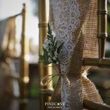 Pinecone Event Decoration