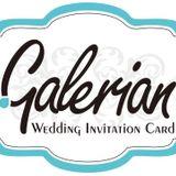 Galerian Wedding Custom Card