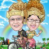 BOG-BOG Bali Cartoon Souvenir