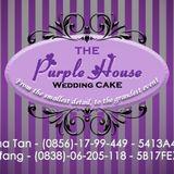 The Purple Wedding Cake
