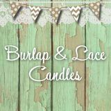 Burlap and Lace Candle Company
