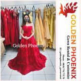 Golden Phoenix Rent Gown