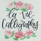 La Vie Calligraphy
