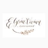 Elysia Vivian Calligraphy