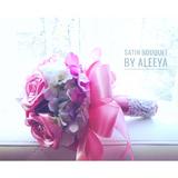 Satin Bouquet By Aleeya