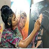 Amber R Taylor Live Art