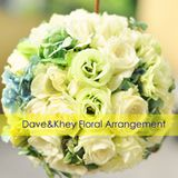 Dave and Khey Floral Arrangement