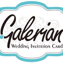 Galerian Wedding Custom Card