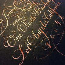 Calligraphy Katrina