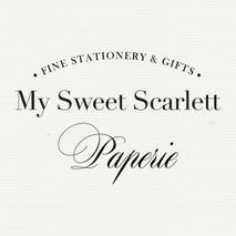 My Sweet Scarlett Paperie
