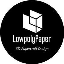 3D Papercraft Lowpolypaper