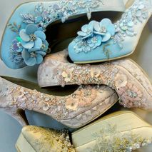 Wedding shoes by Biondi