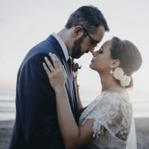 Just Married Bali Wedding