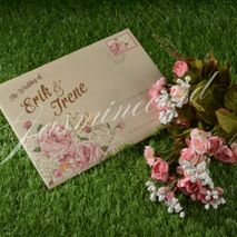 Jasmine Invitation Card