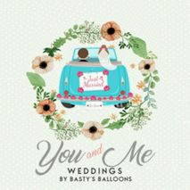 You and Me Weddings by Basty's Balloons