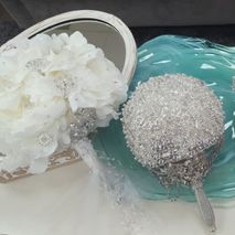 Rita's Bejeweled Bridal Bouquets