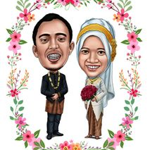Karikatur Wedding
