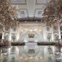 Directory of wedding decoration lighting vendors in jakarta white pearl decoration junglespirit Images
