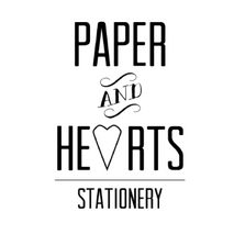 Paper and Hearts Stationery