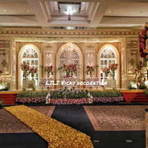 Directory of wedding decoration lighting vendors in jakarta lili vicky decoration junglespirit Choice Image
