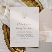 Fornia Design Invitation