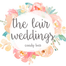 The Lair Weddings Candy Bar