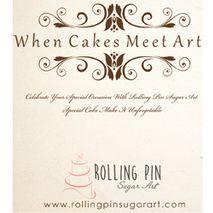 Rolling Pin Sugar Art